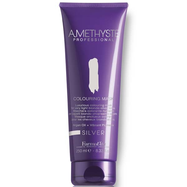 AMETHYSTE COLOURING MASK ZILVER  250ML