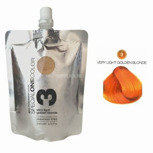 SPECIAL ONE COLOR 03 VERY LIGHT GOLDEN BLONDE  200ML