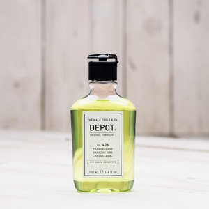 DEPOT No.406 TRANSPARENT SHAVING GEL BRUSHLESS  100ML