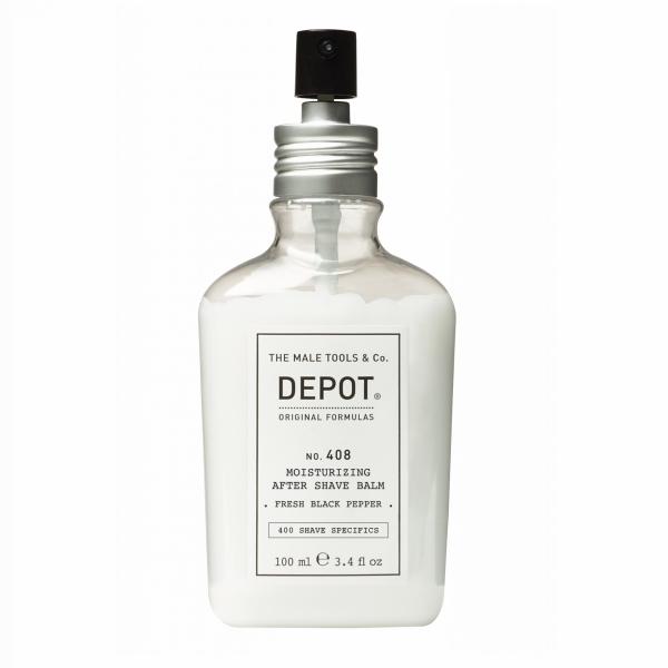 DEPOT No.408 MOIST AFTER SHAVE BALM FRESH BLACK PEPPER  100ML