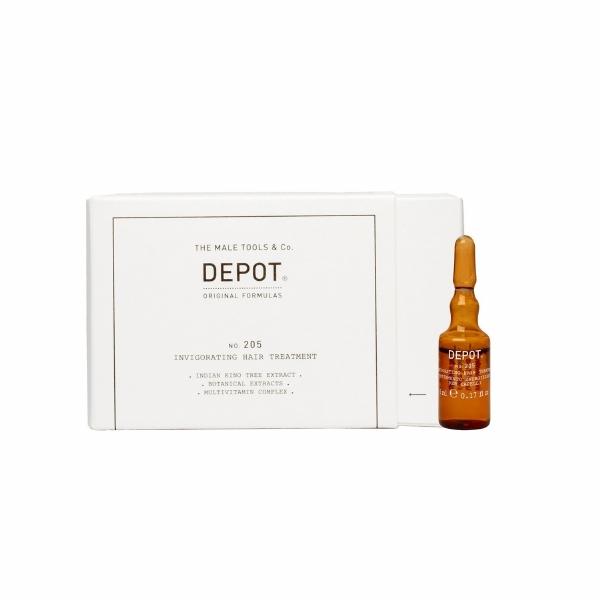 DEPOT No.205 INVIGORATING TREATMENT  10 X 5 ML