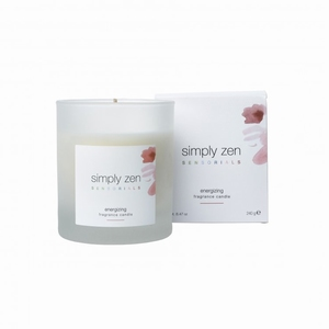 SIMPLY ZEN SENSORIALS FRAGANCE CANDLE ENERGIZING