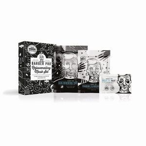 BARBER PRO REJUVENATING MASK SET