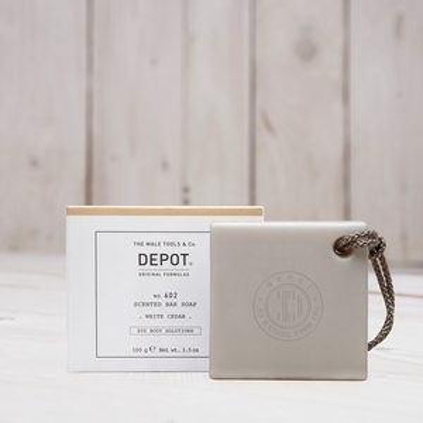 DEPOT No.602 SCENTED BAR SOAP WHITE CEDAR