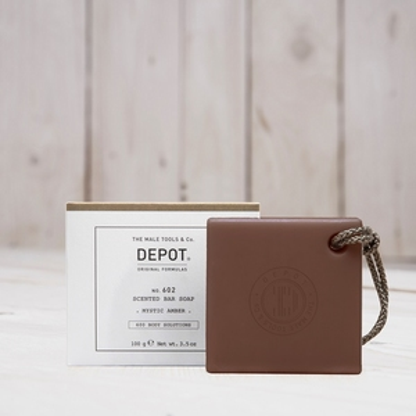 DEPOT No.602 SCENTED BAR SOAP MYSTIC AMBER