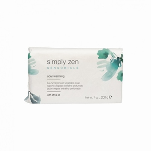 SIMPLY ZEN SENSORIALS VEGETABLE SOAP SOUL WARMING
