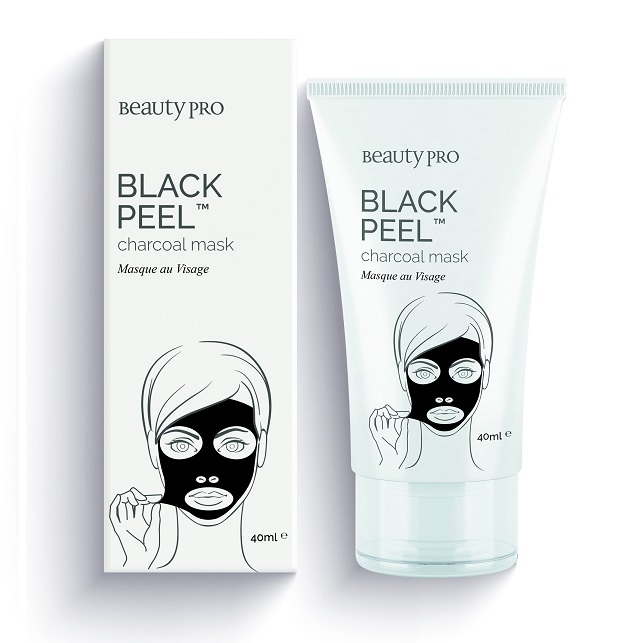 BEAUTYPRO BLACK PEEL CHARCOAL MASK TUBE