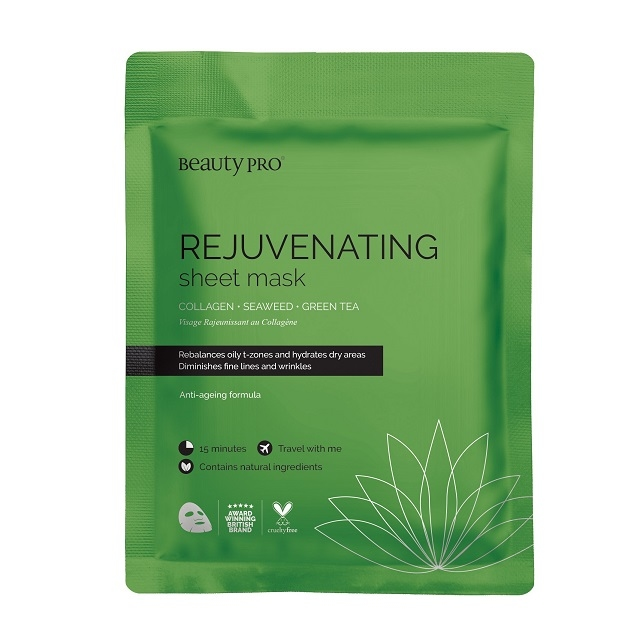 BEAUTYPRO REJUVENATING COLLAGEN SHEET MASK