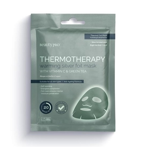 BEAUTYPRO THERMOTHERAPY WARMING SILVER FOIL MASK