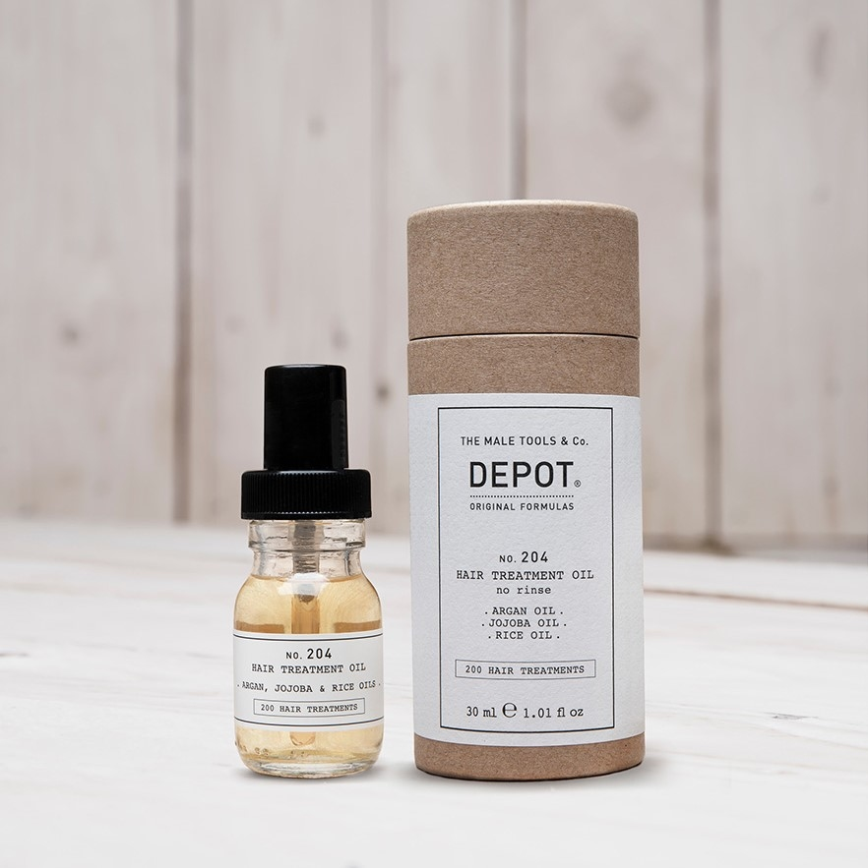 DEPOT No.204 HAIR TREATMENT OIL
