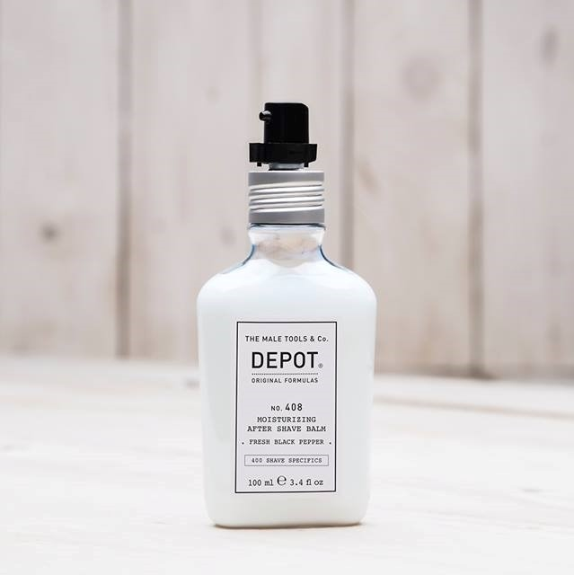 DEPOT No.408 MOIST AFTER SHAVE BALM FRESH BLACK PEPPER