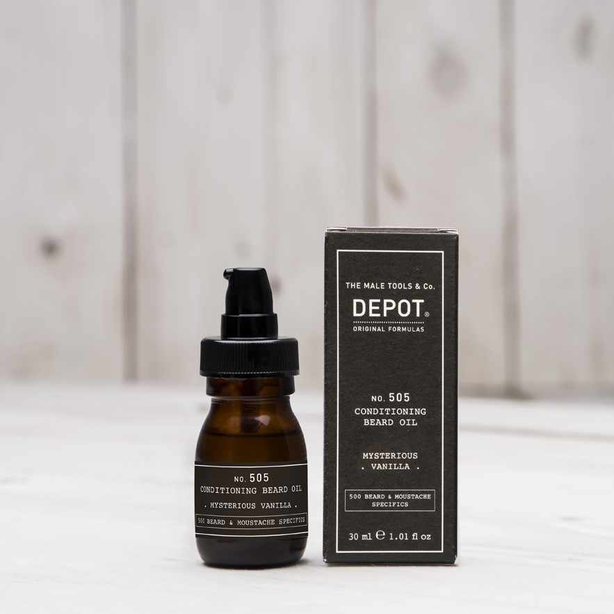 DEPOT No.505 CONDITIONING BEARD OIL MYSTERIOUS VANILLA