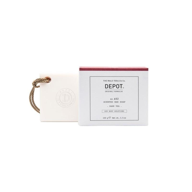 DEPOT No.602 SCENTED BAR SOAP DARK TEA