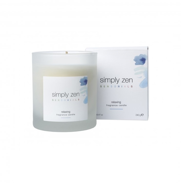 SIMPLY ZEN SENSORIALS FRAGANCE CANDLE RELAXING