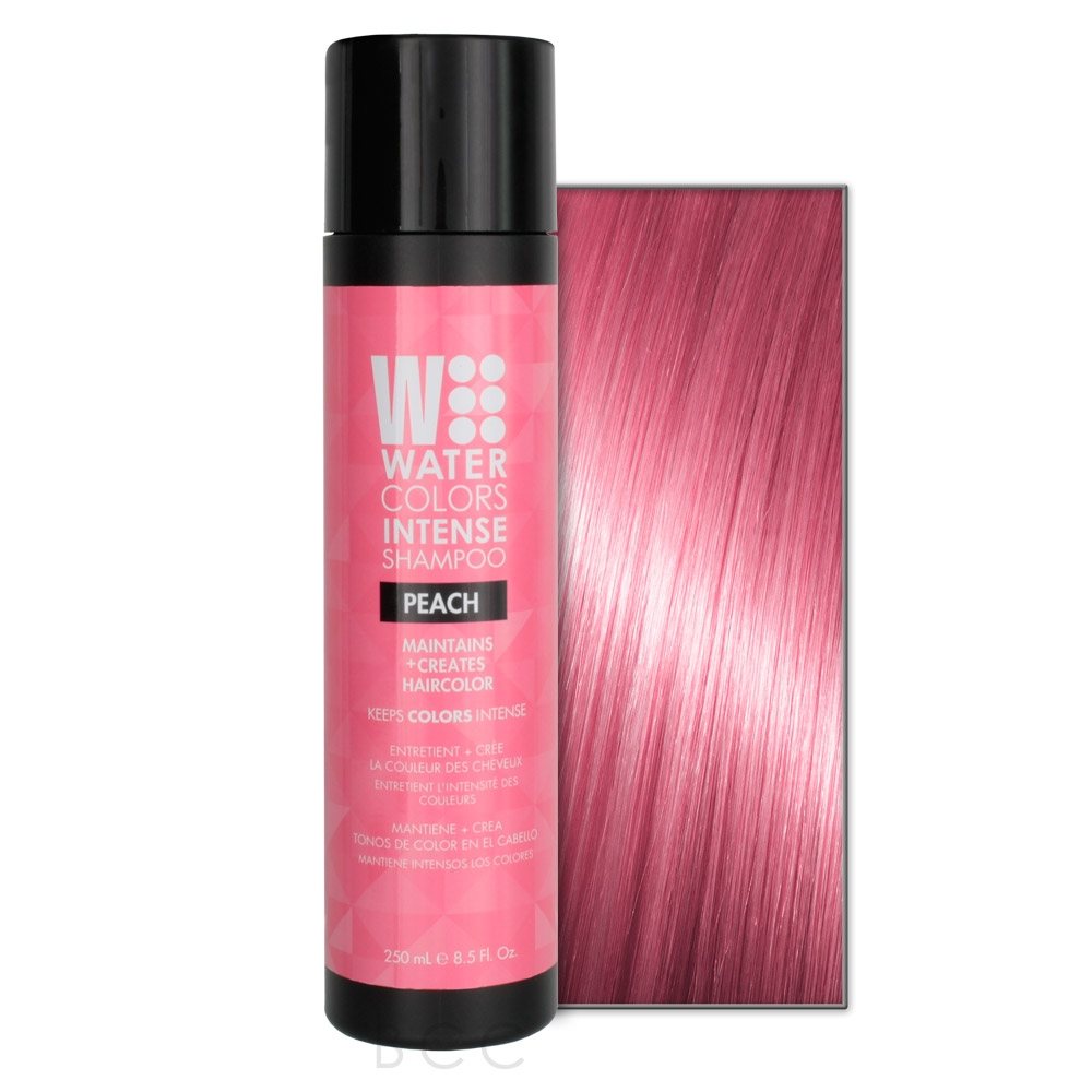 TRESSA WATERCOLORS INTENSE SHAMPOO PEACH