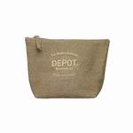 DEPOT CANVAS TOILET/TRAVEL BAG 1 X