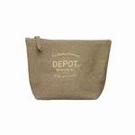 DEPOT CANVAS TOILET/TRAVEL BAG