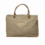 DEPOT CANVAS WEEKEND BAG BIG
