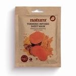 NATURA TURMERIC SHEET MASK