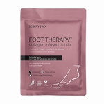 BEAUTYPRO FOOT THERAPY COLLAGEN INFUSED BOOTIE